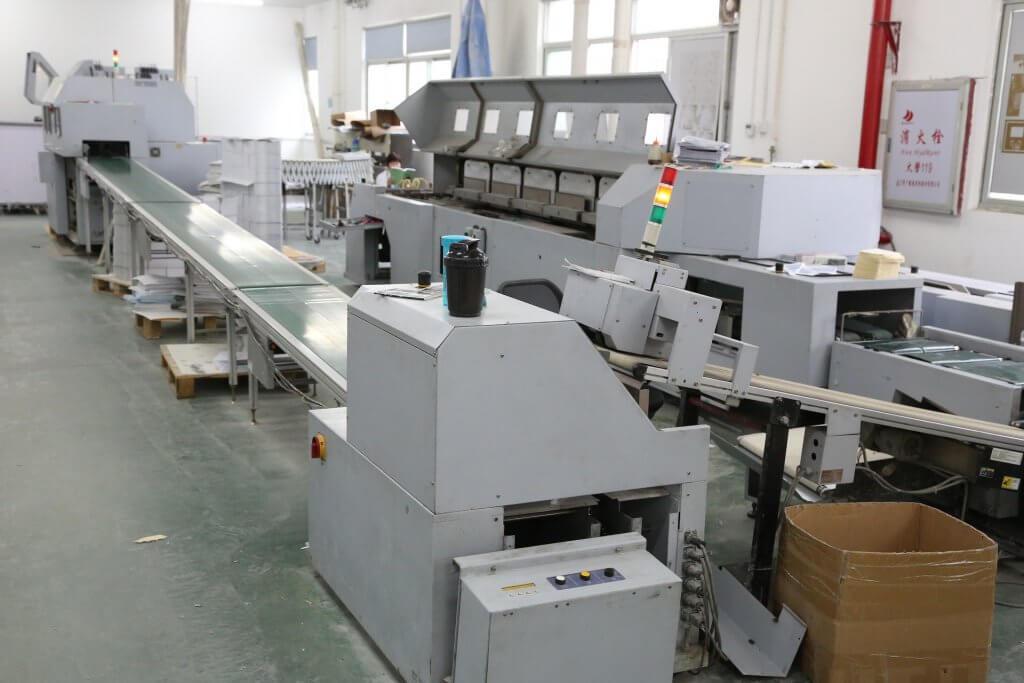Offsetdruck Maschine