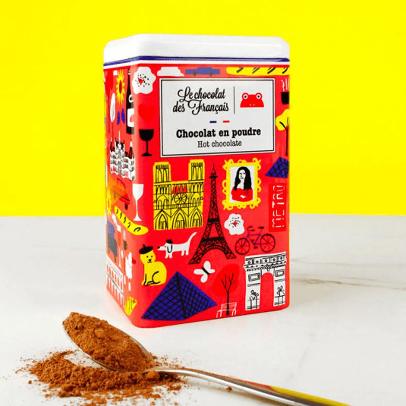 Boîte en métal personnalisé Chocolat des Français