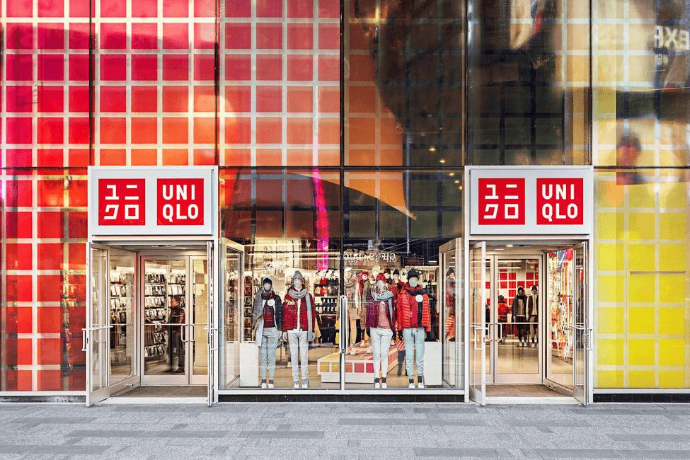 Façade magasin Uniqlo
