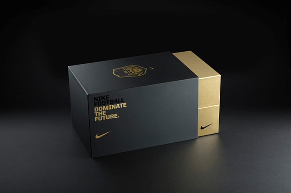 Univers graphique des boîtes de chaussures NIKE