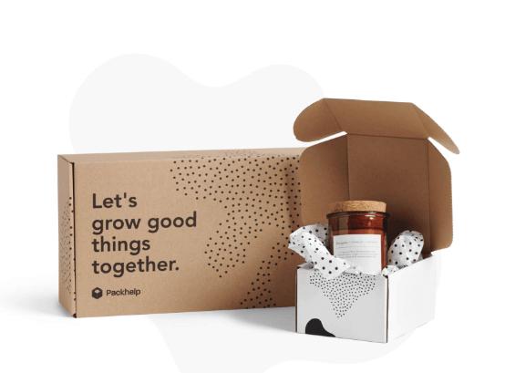 Boîte en carton éco-design