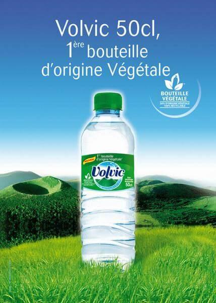 La 1ère bouteille d'origine végétale