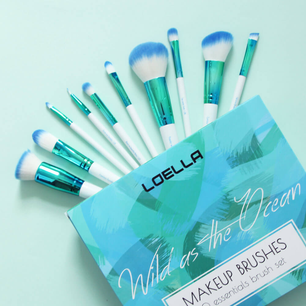 Wild as the Ocean pennelli Loella Cosmetics
