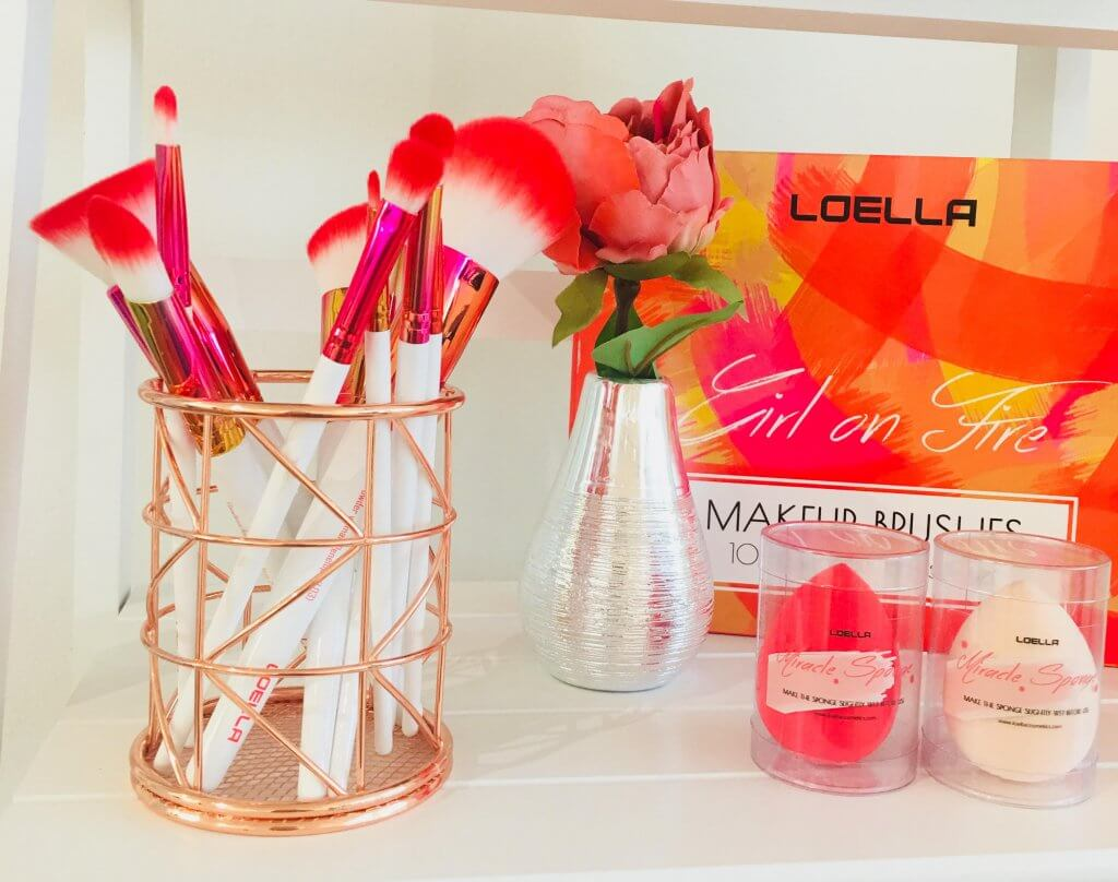brush set loella cosmetics