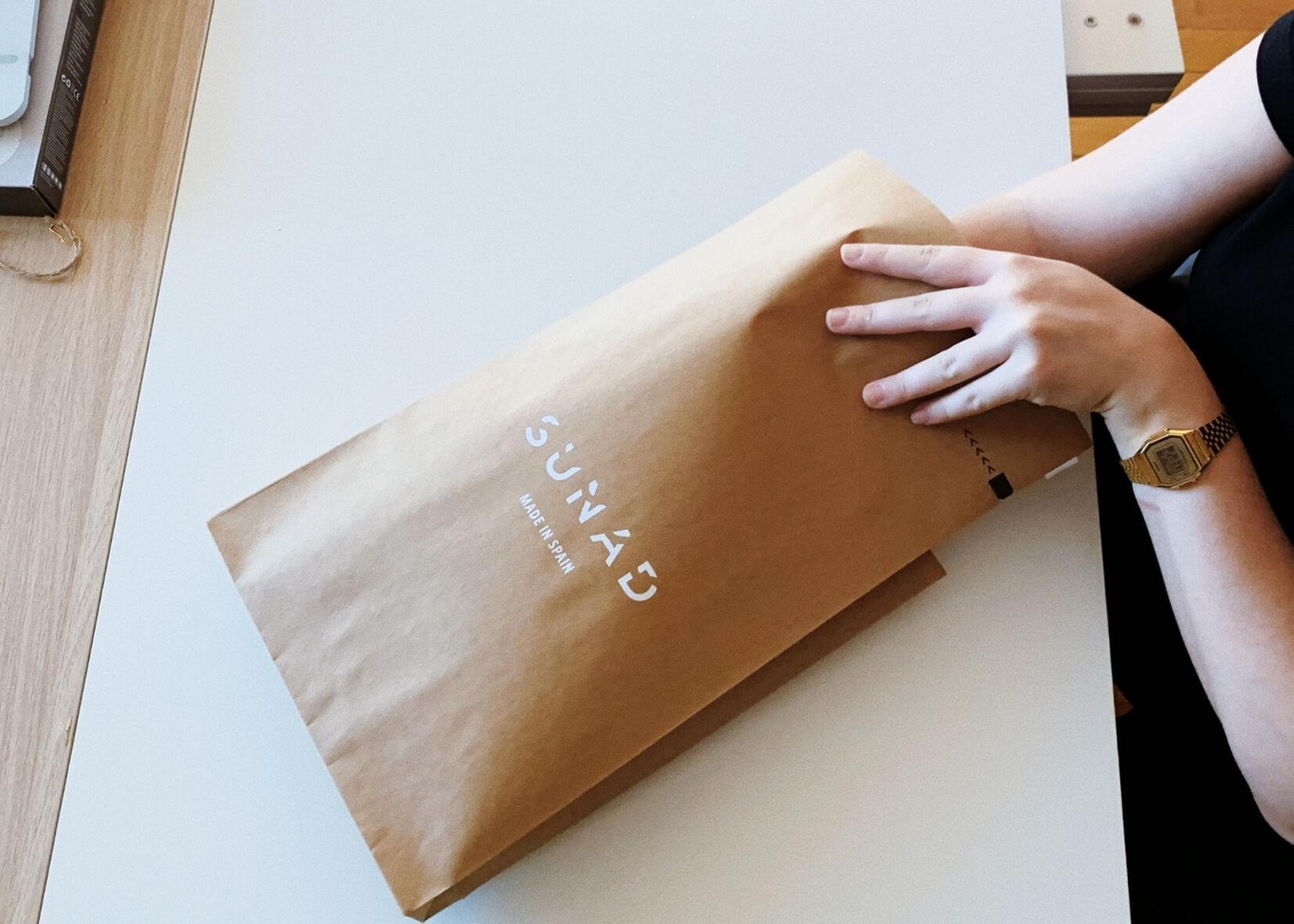 sobres kraft para enviar ropa