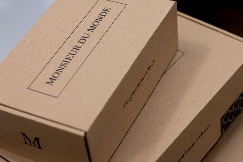pudełko fasonowe monsieur du monde i zapakuj.to