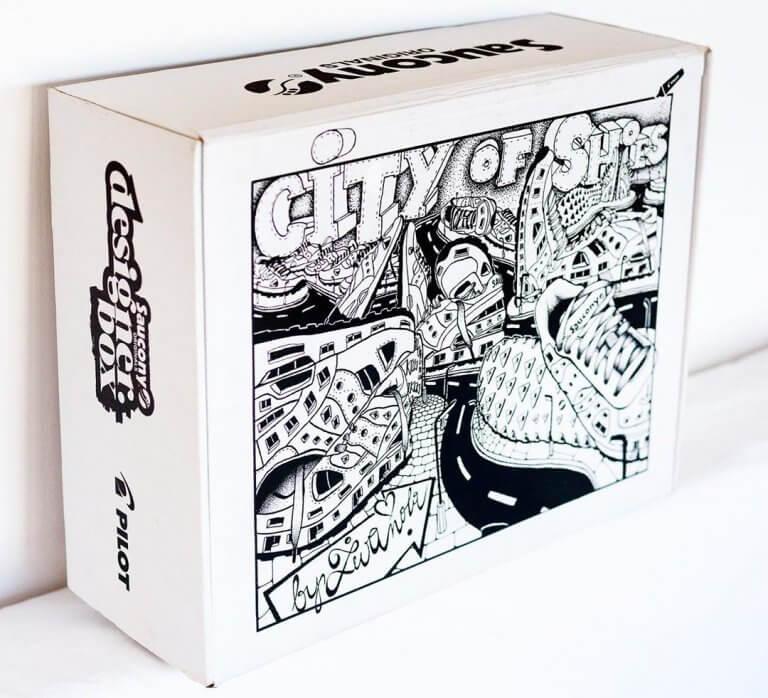 Saucony : la boîte de sneakers créative