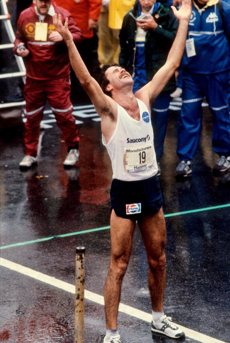Rod Dixon vince la maratona di New York