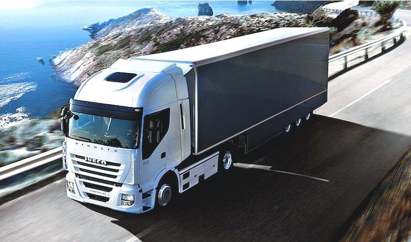 Camion de transport de marchandises