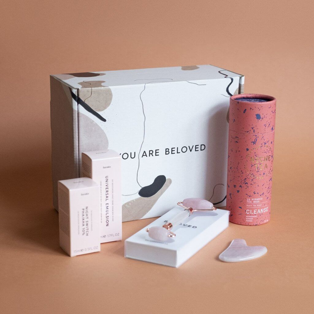 beloved shop cosmetics packaging
