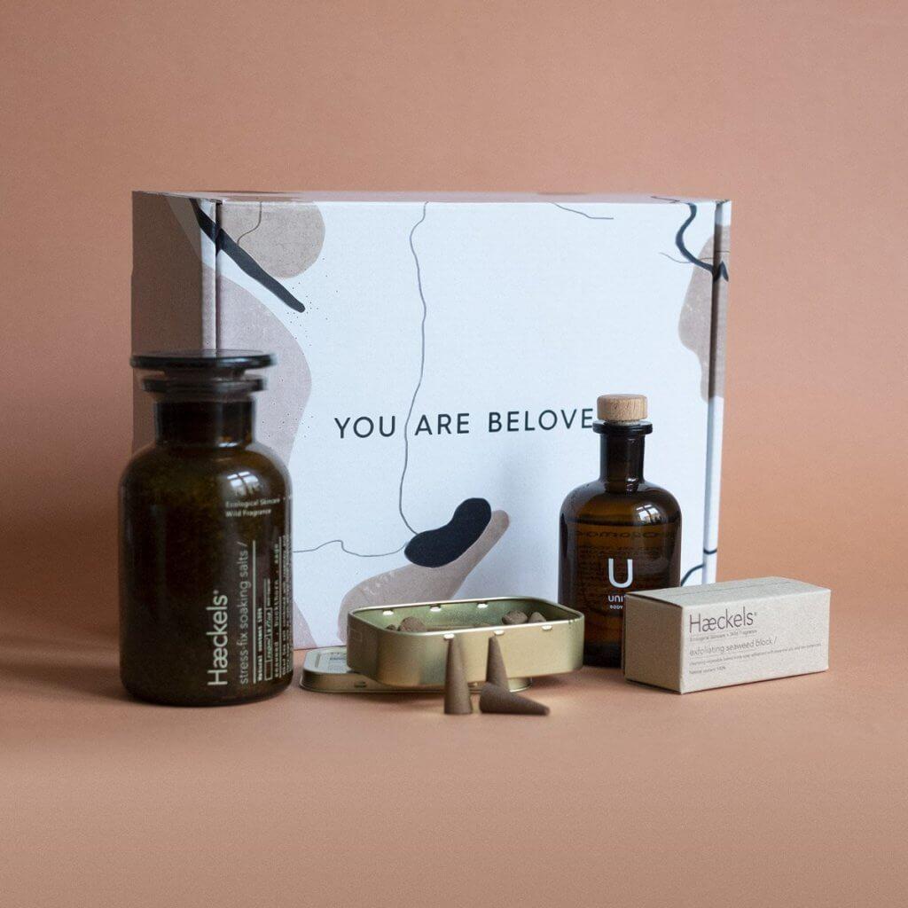 beloved shop packaging