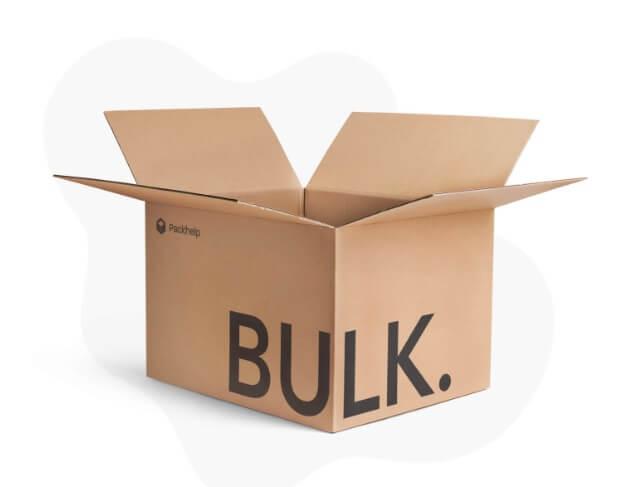 Caja de cartón barata para realizar envíos