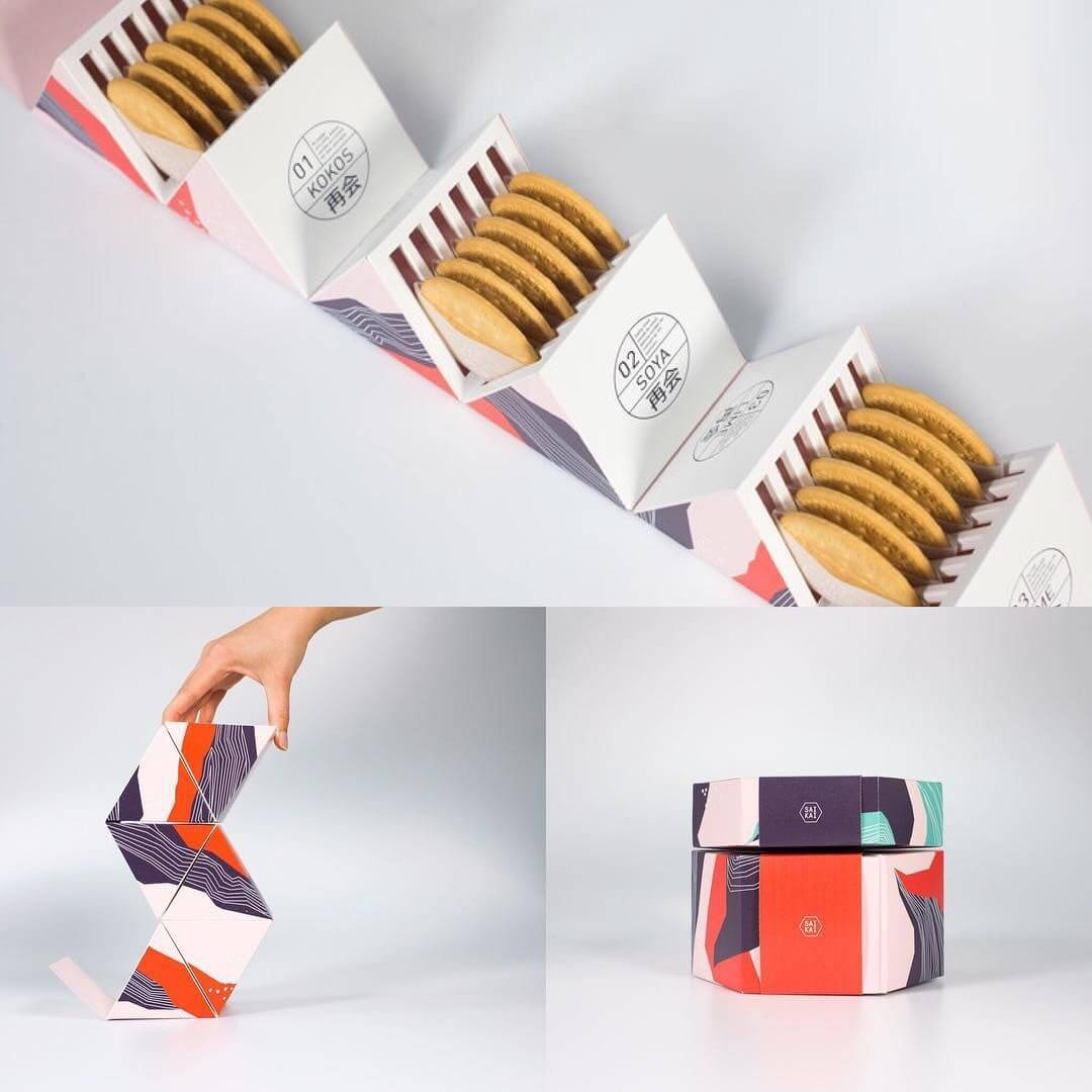 Packaging alimentare originale biscotti