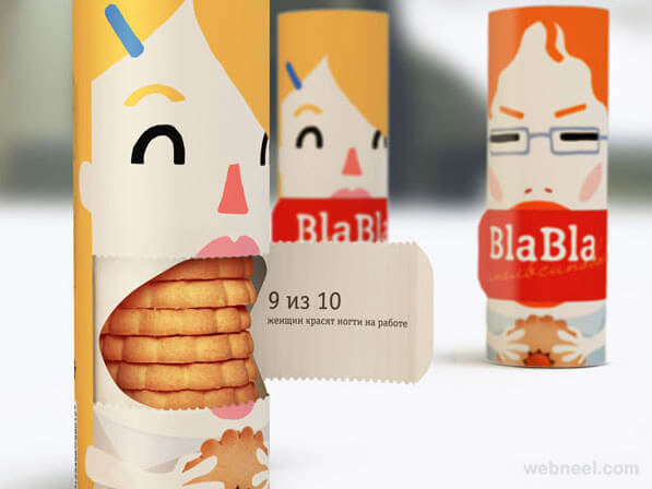 Idee creative packaging biscotti