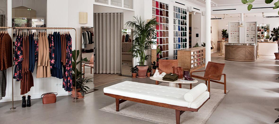 Boutique Sézane dans un appartement