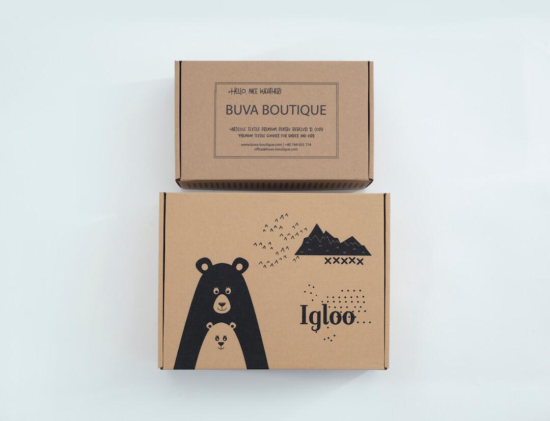 Carton d'emballage Buva Boutique