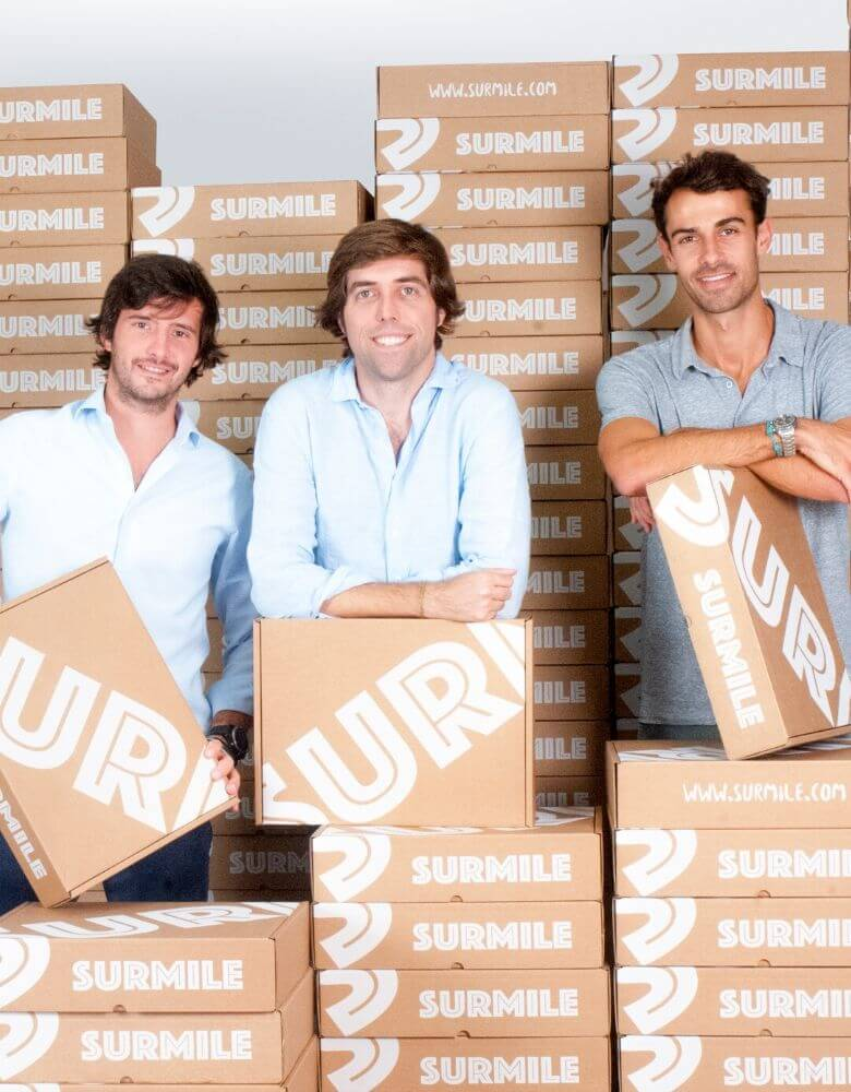 fundadores de la marca Surmile