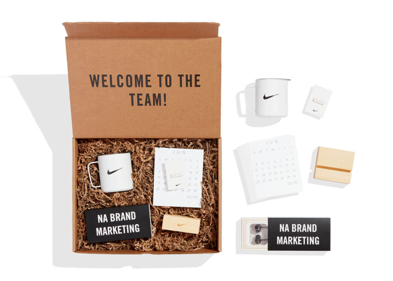 Idee welcome kit nike