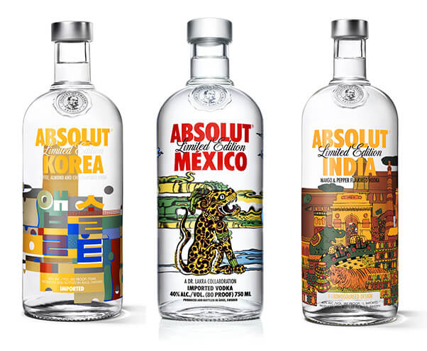 Absolute vodka edizione limitata storytelling