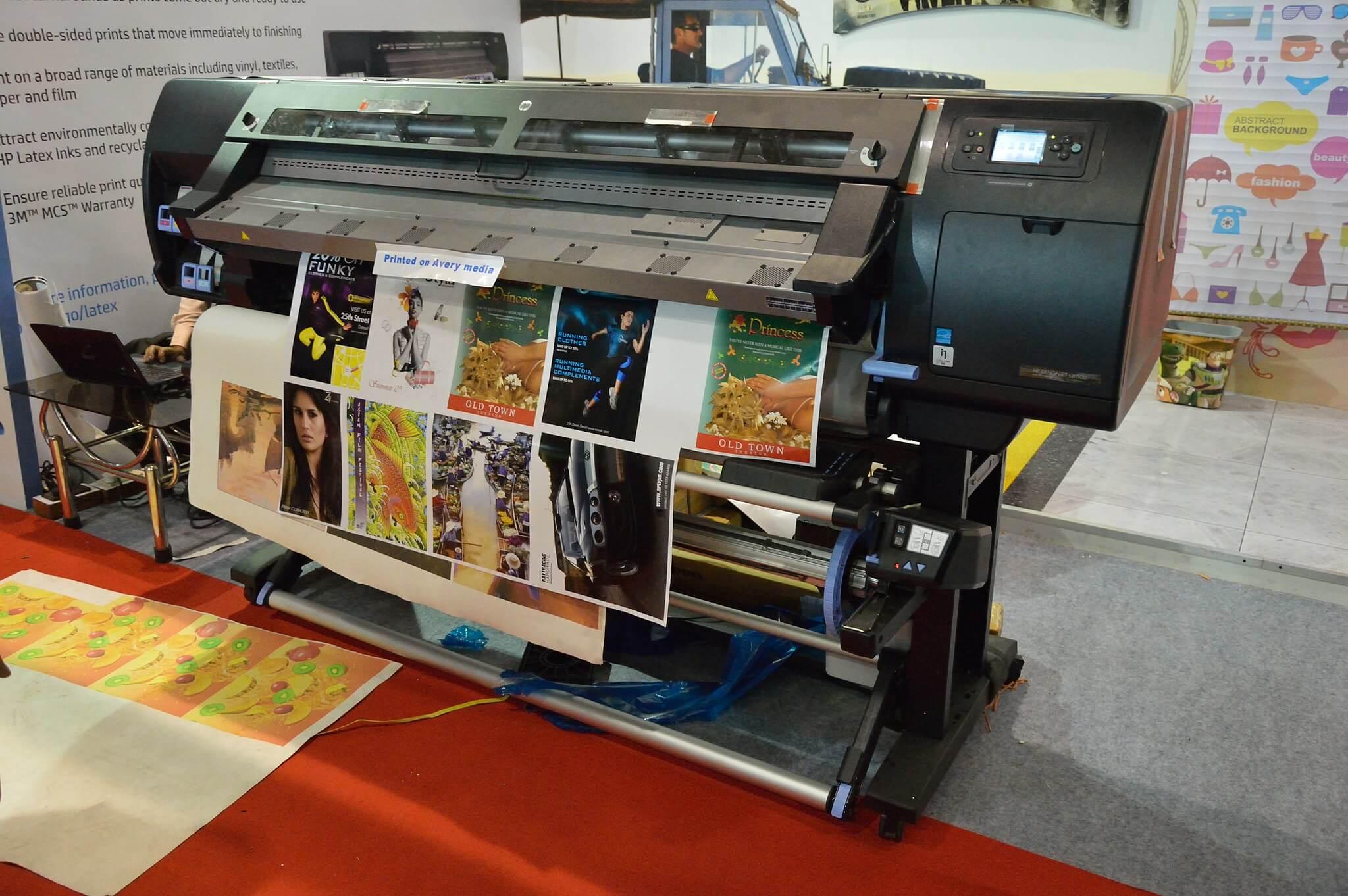 Impression numérique avec une imprimante à jet d'encre