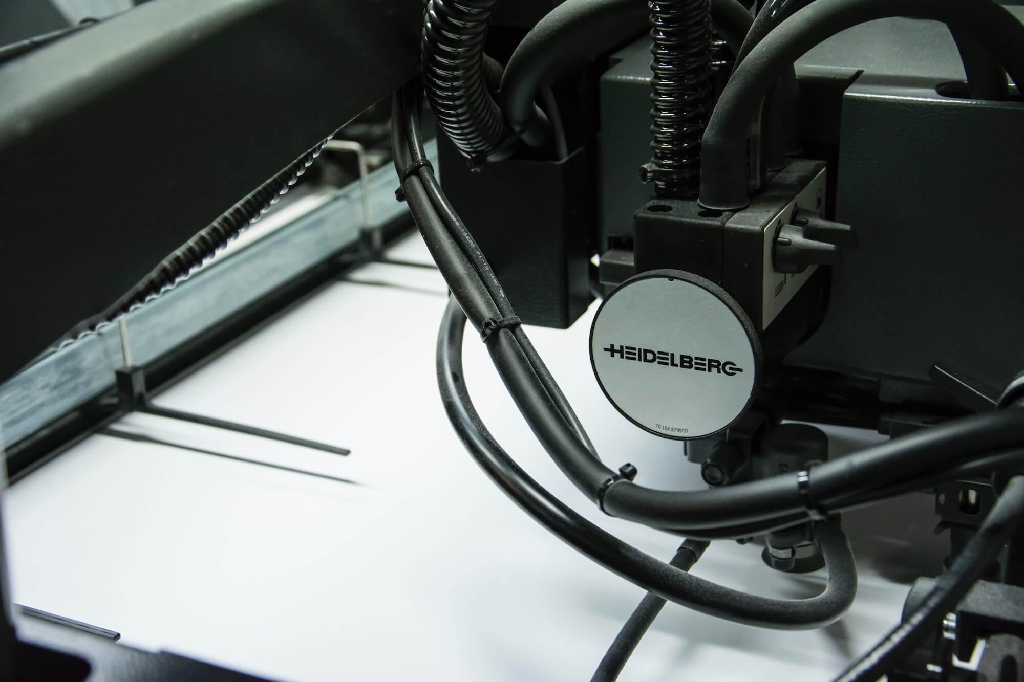 Imprimante Heidelberg vue de près