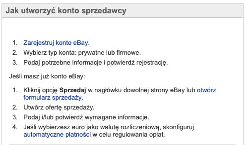 jak założyć konto na ebay.pl