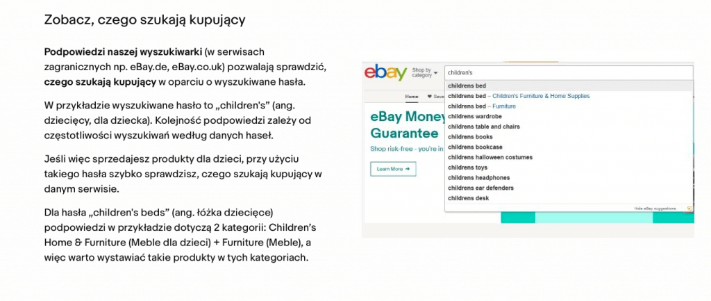 research rynku na ebay.pl