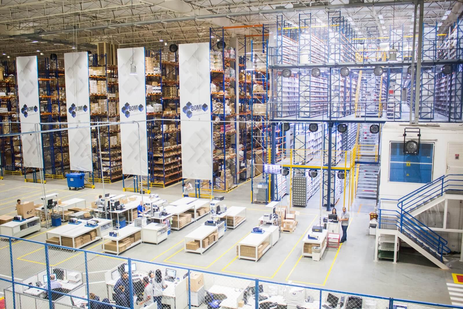 entrepôt logistique e-commerce