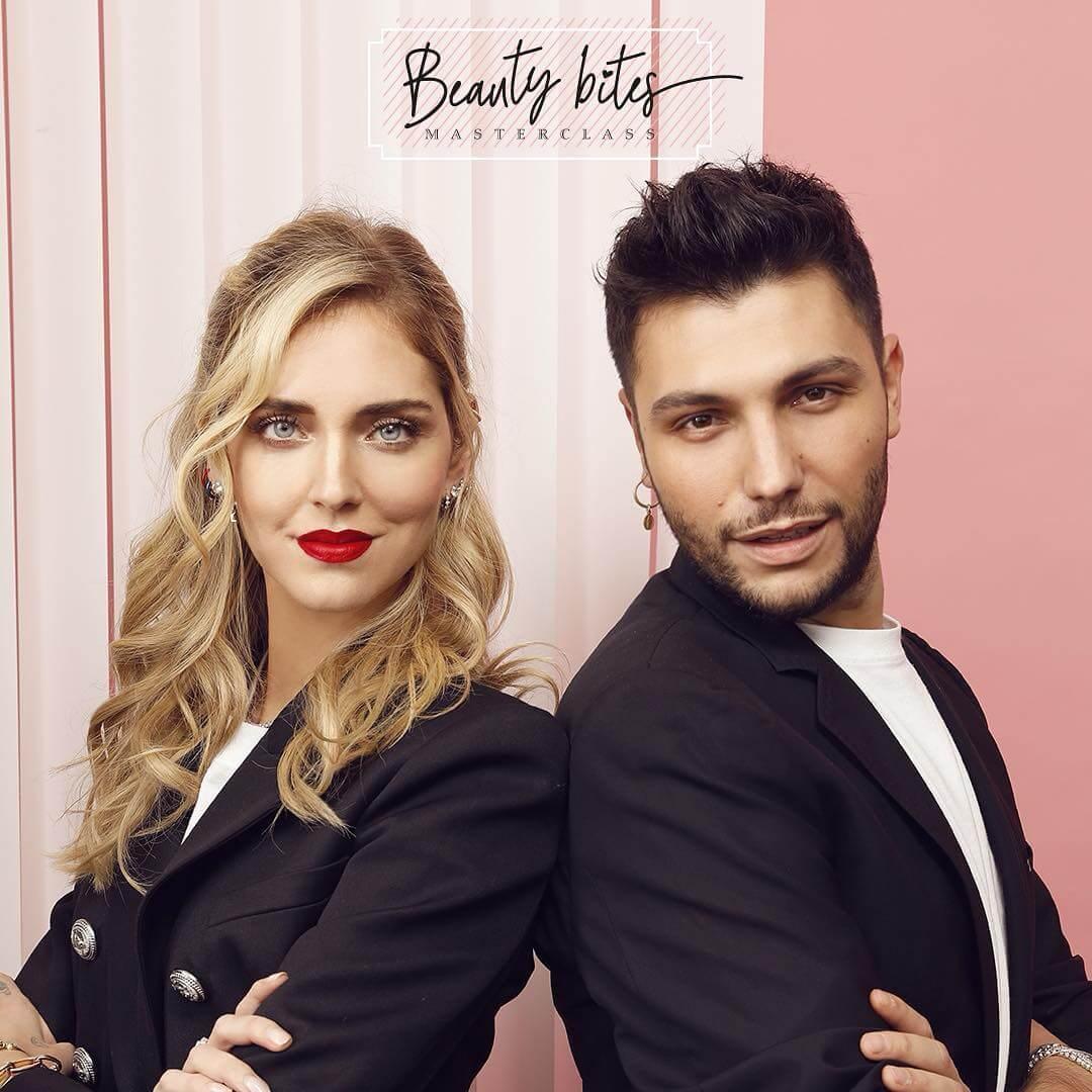 Beauty bites masterclass Chiara Ferragni x Manuele Mameli