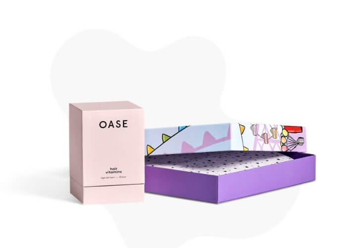 cajas personalizadas a color de Packhelp