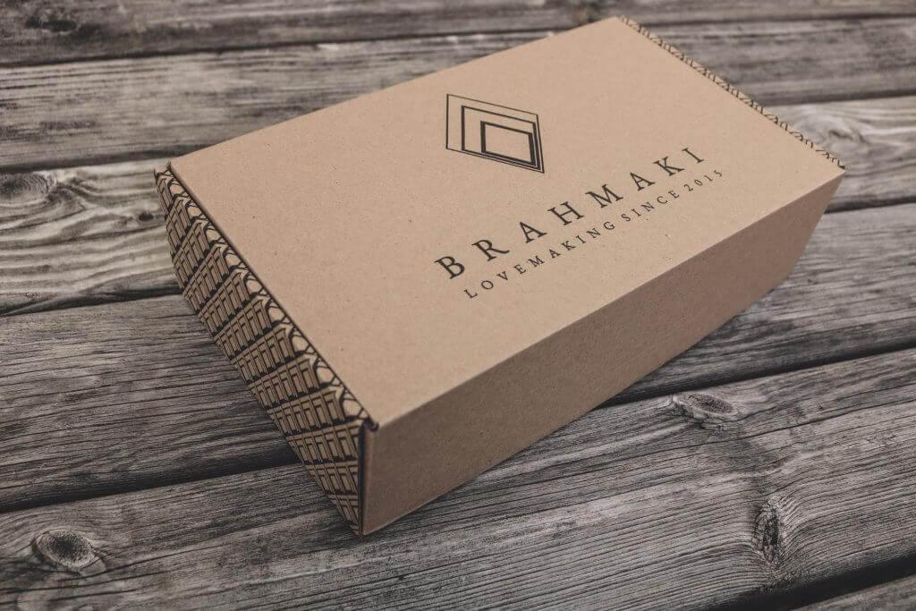 kraftový papír krabice brahmaki