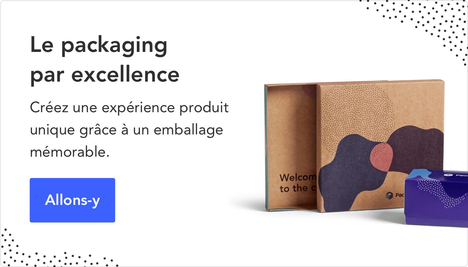 Packaging sur mesure avec Packhelp