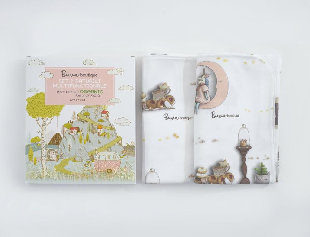custom packaging for buva boutique organic products