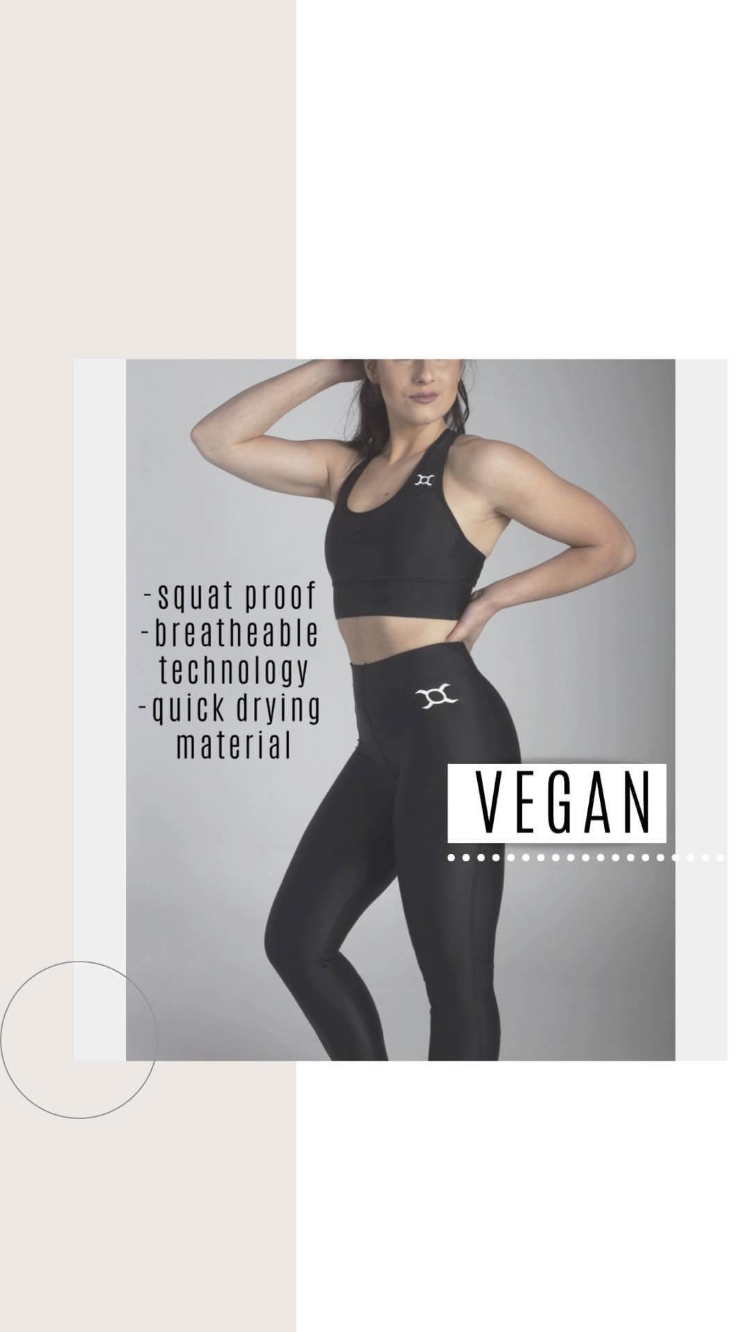 Leggings de sport vegan de la marque Origin X Performance