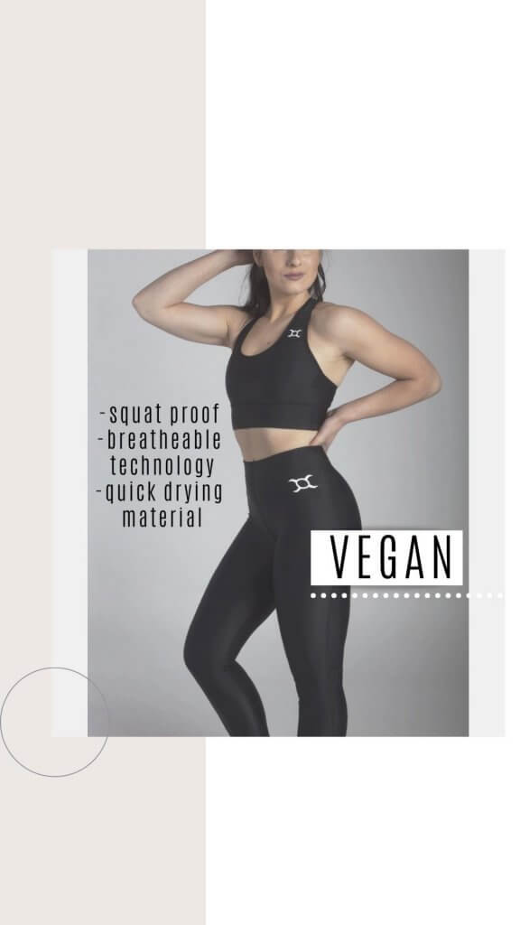 vegan black line ox performance