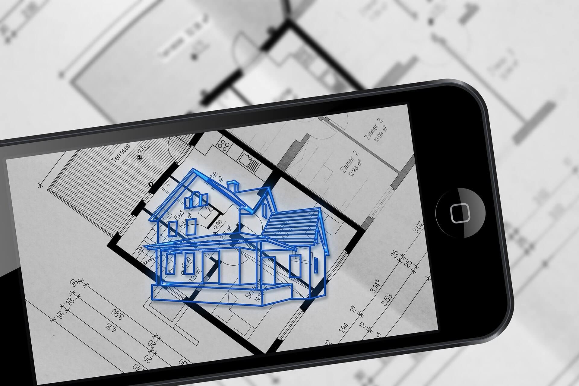 Visualiser sa maison avec les plans grâce à la réalité augmentée