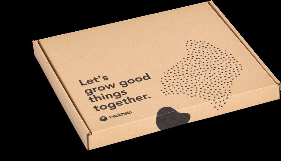 caja fabricada con materiales ecológicos