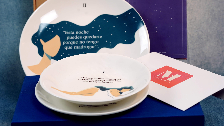 varios platos de la marca Caicus