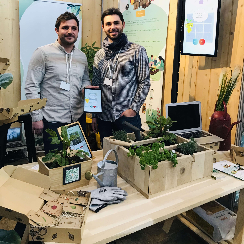 Michel y Guillaume han creado el proyecto Ortusia