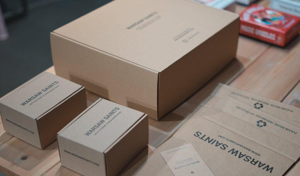 Warsaw Saints krabice s potiskem