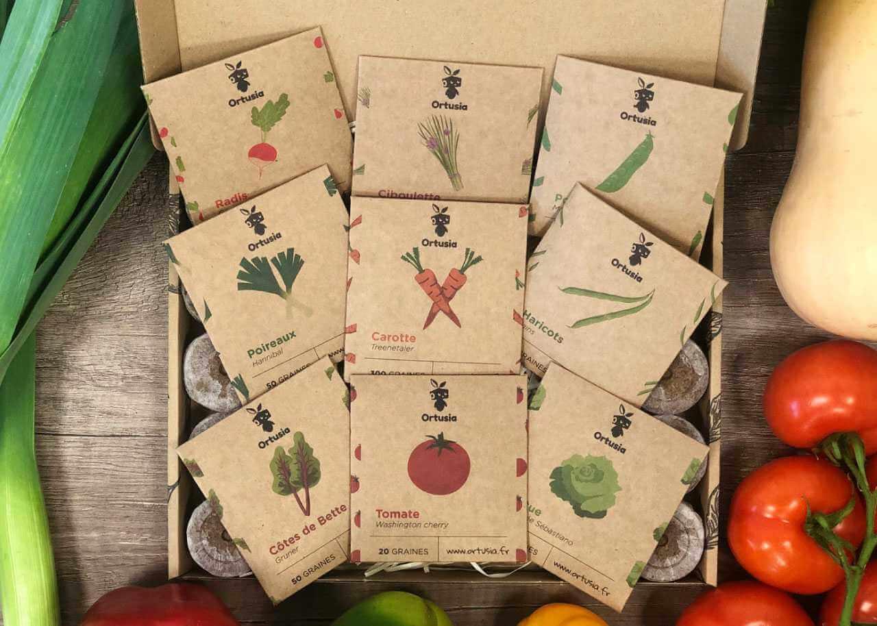 Ortusia balení ekologické na semena