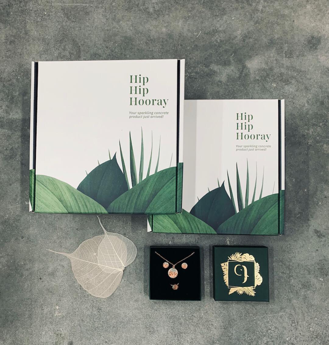 Le packaging éco-responsable de Concrete Jungle