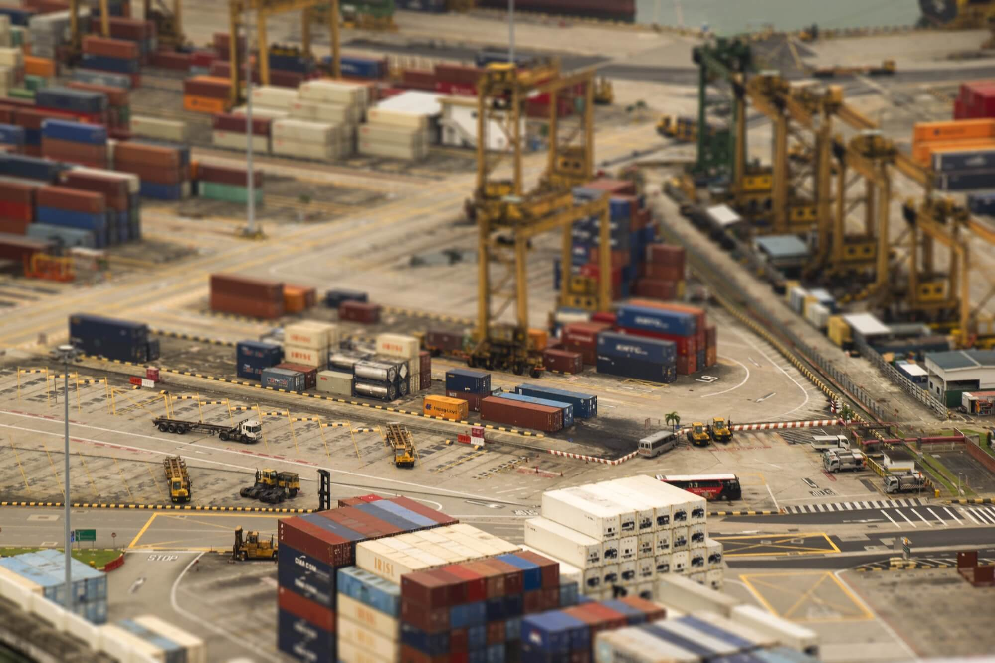 Containers pour transporter les marchandises