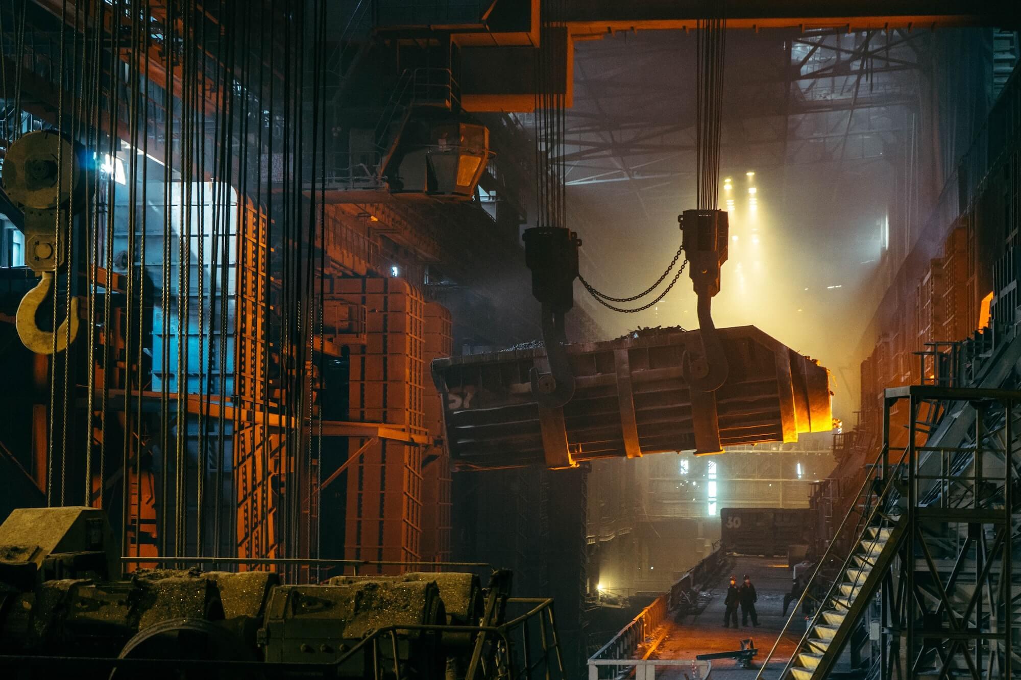 Fabrication dans une usine