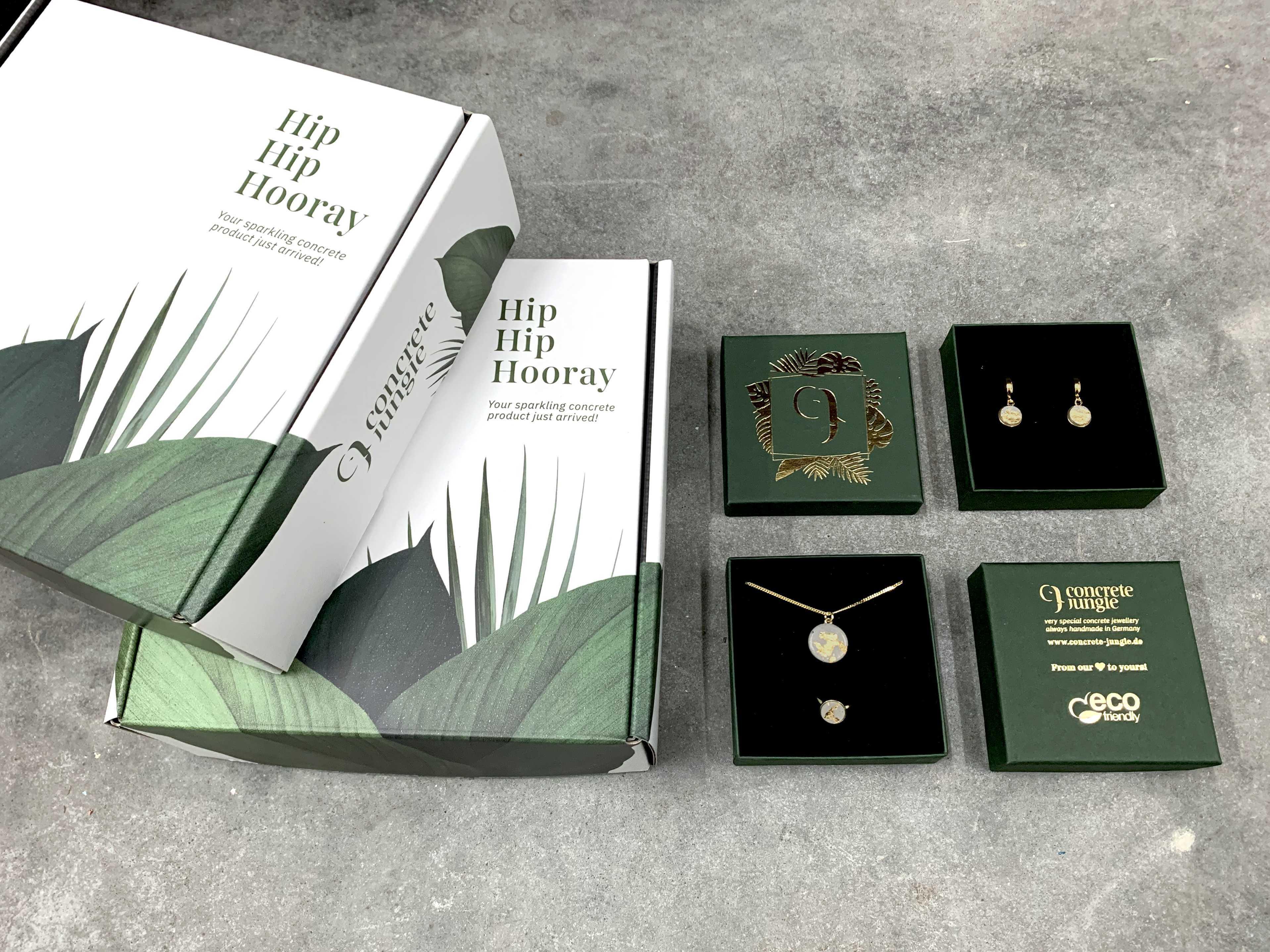 Concrete Jungle krabičky na šperky