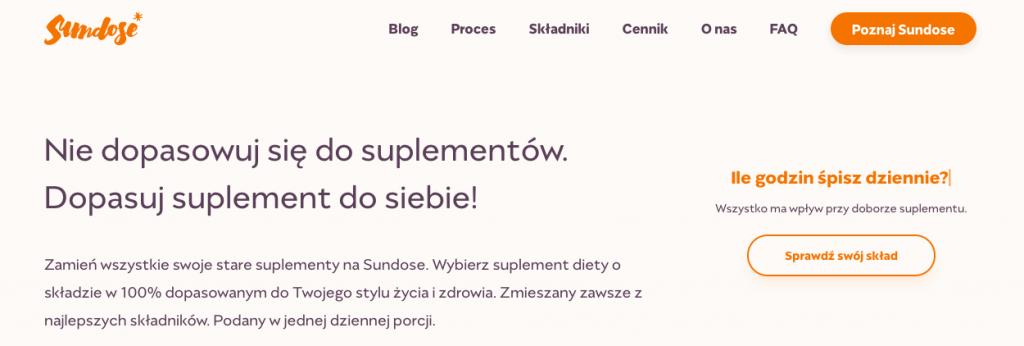 polskie d2c sundose