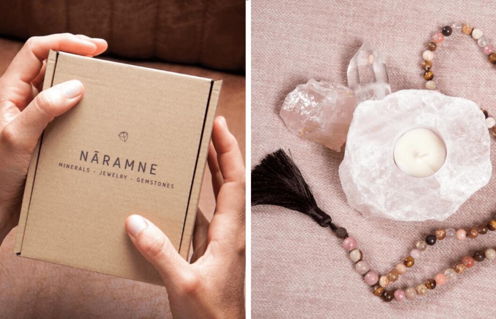Boîte à bijoux Nāramne