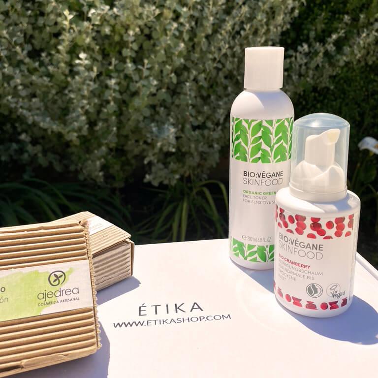 productos cosméticos de Étika Shop