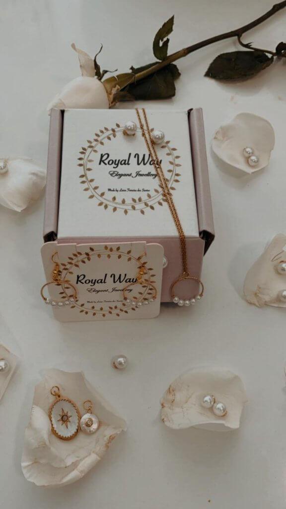 Royal Way Schmuck Kollektion und Verpackung