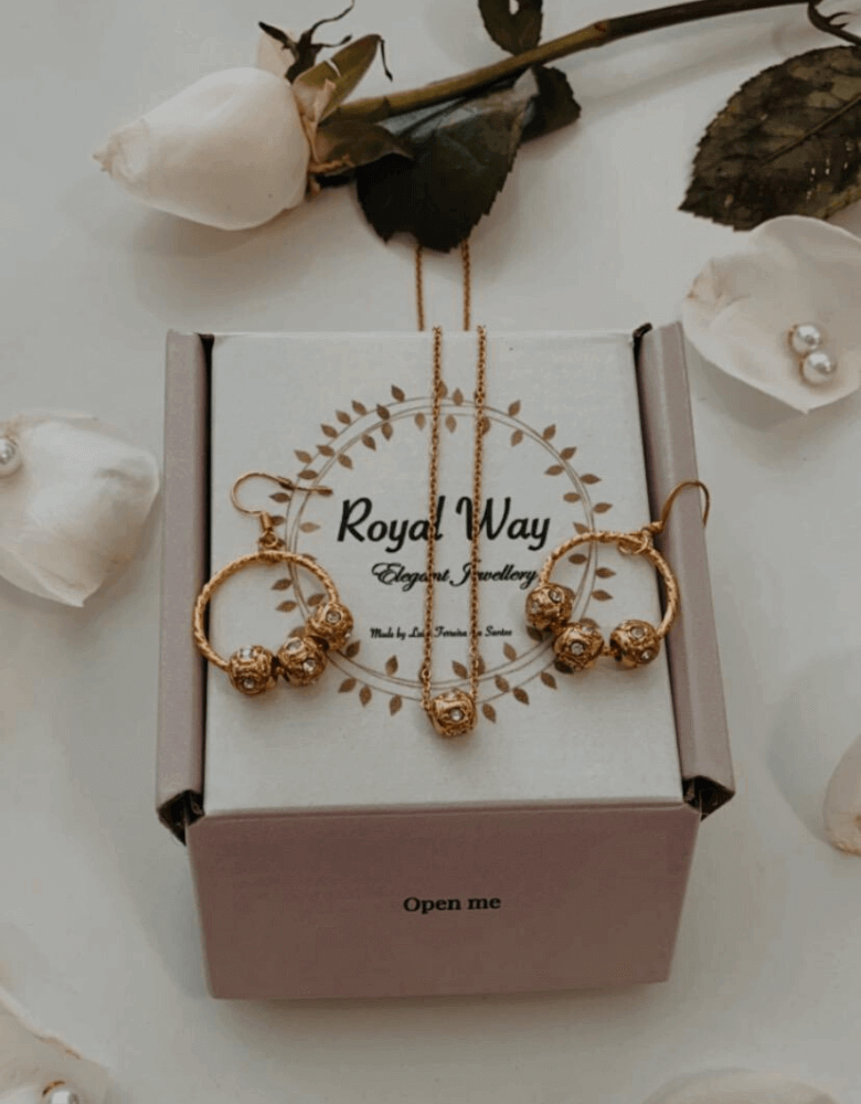 Packaging bijoux de Royal Way